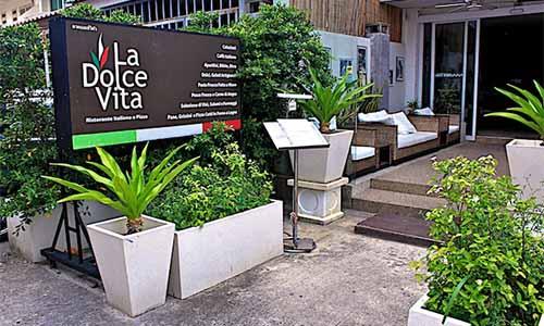la dolce vita italian restaurant phuket patong 1