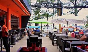 royal palm beach front restaurant bar patong phuket