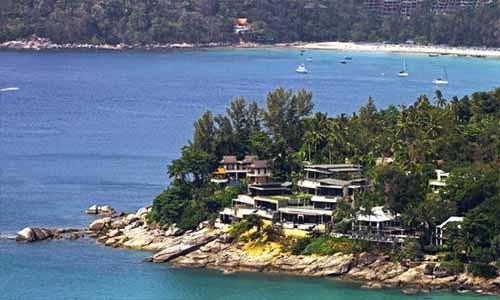 kata beach sea view villa